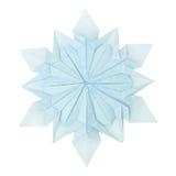 Flocon de neige d'origami Image libre de droits