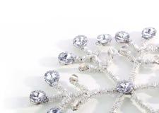Flocon de neige de diamant Image libre de droits