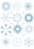 flocon de neige de Noël illustration stock
