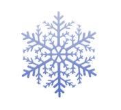 Flocon de neige léger photographie stock libre de droits