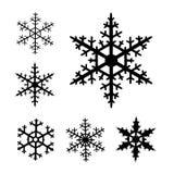 Flocon de neige-ramassage Images stock