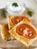 floconneux cuit au four Image stock