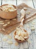 Flocons d'amande Image stock