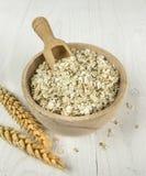 Flocons de farine d'avoine Photos libres de droits