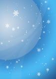 Flocons de neige 1 Image stock