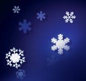 Flocons de neige photographie stock