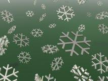 Flocons de neige Photographie stock libre de droits