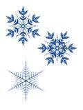 Flocons de neige Illustration Stock
