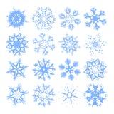 Flocons de neige Photos stock