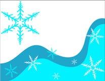 Flocons de neige. Photo libre de droits