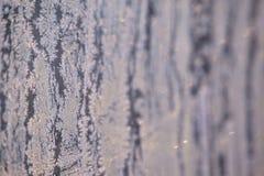 Flocons de neige blancs Couleur grise Modèle d'hiver Photos libres de droits
