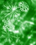 Flocons de neige de fête Images libres de droits