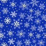 flocons de neige de fond illustration stock