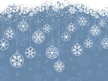 Flocons de neige de Noël Photographie stock libre de droits