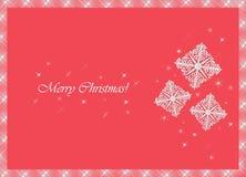 flocons de neige de Noël Illustration de Vecteur