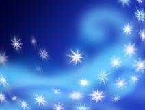 Flocons de neige de tourbillonnement Photographie stock libre de droits