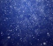 Flocons de neige en baisse Photographie stock libre de droits