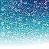 Flocons de neige en baisse Images libres de droits