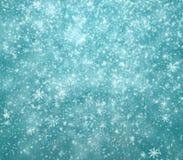Flocons de neige en baisse, fond de neige Images libres de droits