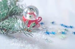 Flocons de neige et hiver Photos stock