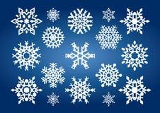 Flocons de neige (illustration) Photographie stock