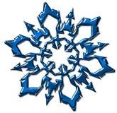 Flocons de neige pour le festival Photos libres de droits