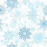 Flocons de neige sans couture Image libre de droits