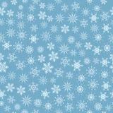 Flocons de neige sans joint Illustration Stock