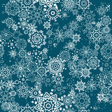 flocons de neige sans joint de configuration Image stock