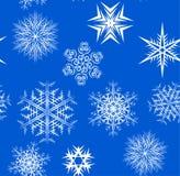flocons de neige sans joint de configuration Images stock