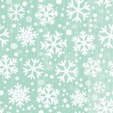 flocons de neige sans joint de configuration Photographie stock