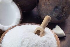 Flocons de noix de coco photos libres de droits