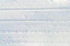 Flocons et cristaux blancs de neige de fond de neige d'hiver Images stock