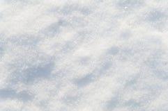 Flocons et cristaux blancs de neige de fond de neige d'hiver Photo stock