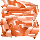 Flocons métalliques d'or rose énorme illustration libre de droits