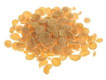 Flocos de milho fotografia de stock