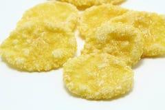 Flocos de milho Fotografia de Stock Royalty Free