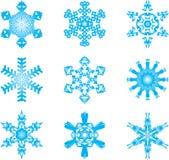 Flocos de neve Fotos de Stock Royalty Free