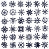 Flocos de neve. Fotografia de Stock Royalty Free