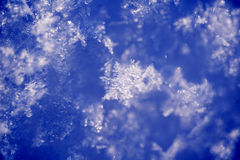 Flocos de neve Fotografia de Stock