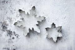 Flocos de neve foto de stock royalty free