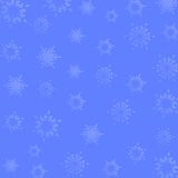Flocos de neve Foto de Stock Royalty Free