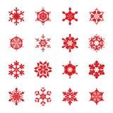 Flocos de neve ilustração stock