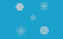 Flocos de neve Imagem de Stock