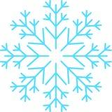 Flocos de neve azuis, molde, sem emenda, estrelas fotografia de stock royalty free