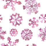 Flocos de neve bonitos Foto de Stock Royalty Free