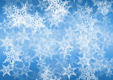 Flocos de neve brancos Imagem de Stock