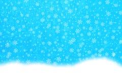 Flocos de neve da alimentação Imagens de Stock