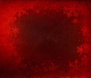 Flocos de neve de Grunge Ilustração Royalty Free