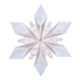 Flocos de neve de Origami Imagens de Stock